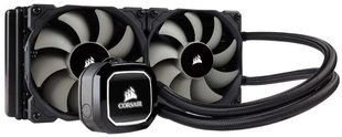 Corsair Hydro Series H100x High Performance Liquid CPU Cooler (CW-9060040-WW)
