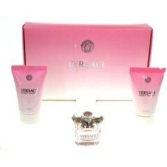 Komplekt Versace Bright Crystal: EDT naistele 5 ml + kehaemulsjoon 25 ml + dušigeel 25 ml hind ja info | Naiste lõhnad | kaup24.ee