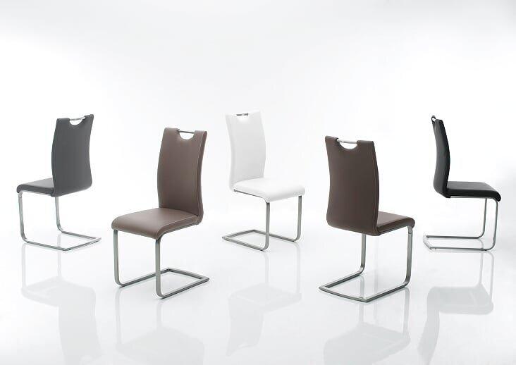Комплект из 4 стульев Paulo, светло-коричневый