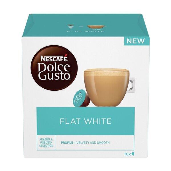 Kohvikapslid Dolce Gusto Flat White, 16 kaps