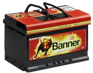 Aku BANNER Power Bull 74Ah 680A