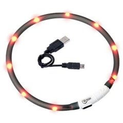 Visio Light LED kaelarihm 20-70 cm, must