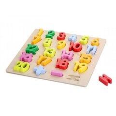 Puidust numbrid-sorteerija PlayMe hind ja info | Imikute mänguasjad | kaup24.ee