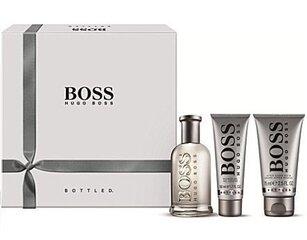 Komplekt Hugo Boss Boss Bottled: EDT meestele 100 ml + dušigeel 50 ml + raseerimisjärgne palsam 75 ml