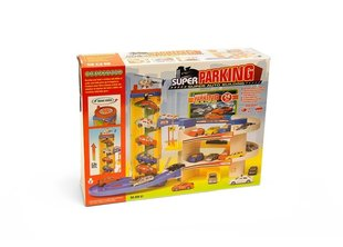 Parkimismaja Super Auto Parking Building hind ja info | Poiste mänguasjad | kaup24.ee