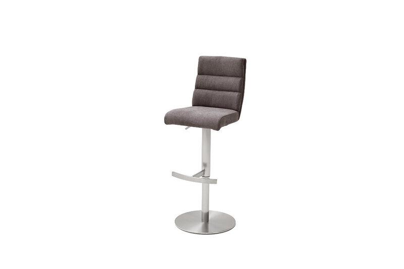 Барный стул Giulia B-1, гобелен, коричневый