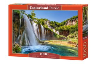 Pusle Land of the Falling Lakes Castorland, 1000 osa hind ja info | Pusled | kaup24.ee