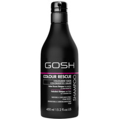 Šampoon värvitud juustele Gosh Colour Rescue 450 ml