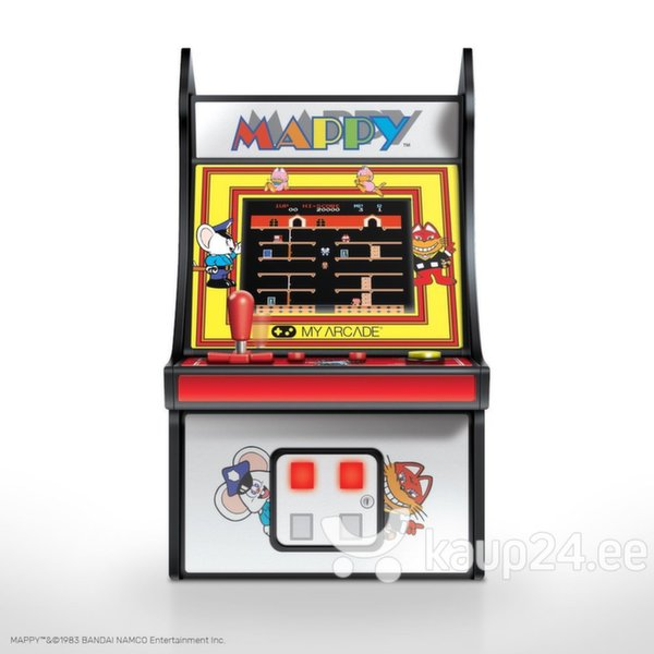 dreamGEAR Retro arkaadmäng Mappy Micro Player Internetist