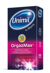 Kondoomid Unimil OrgazMax, 10 tk