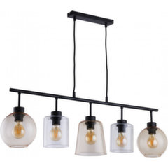 Rippvalgusti TK Lighting Pedro Glass 1741