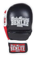 Naturaalsest nahast MMA kindad Benlee Striker, must hind ja info | Naturaalsest nahast MMA kindad Benlee Striker, must | kaup24.ee
