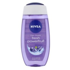 Dušigeel Nivea Powerfruit Fresh 250 ml