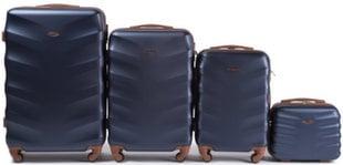 4 osaline kohvrite komplekt Wings 402-4, sinine