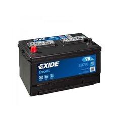 Aku EXIDE EB788 78 Ah 850 A hind ja info | Akud | kaup24.ee