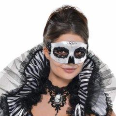 Mask Domino, mustvalge
