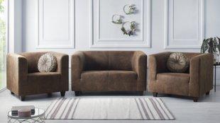 Комплект мягкой мебели BoboChic Django III, светло-коричневый