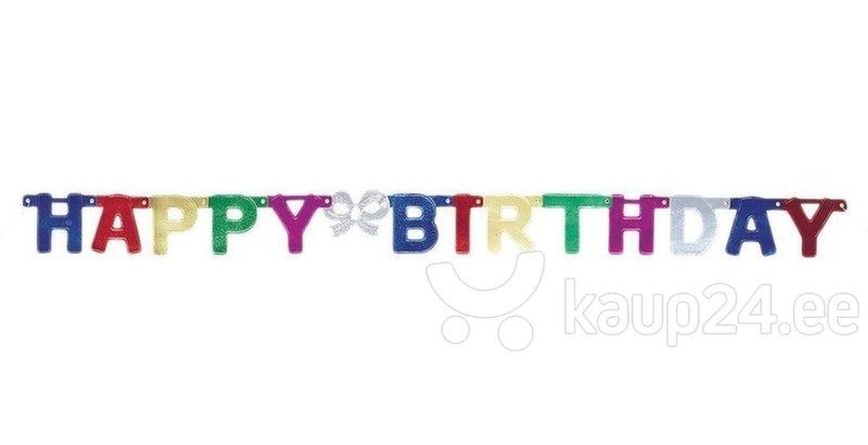 Kett Happy Birthday värviline, 1,5 m
