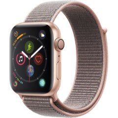 Apple Watch S4 GPS, 44 mm, Gold Aluminium, Pink Sand Sport Loop