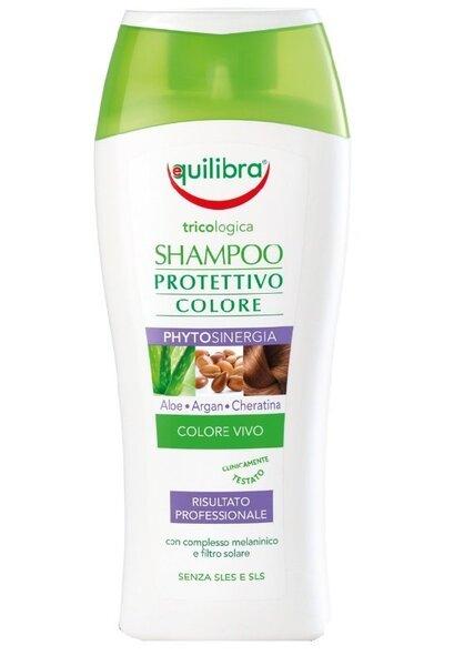 Värvi kaitsev šampoon värvitud juustele Equilibra Colour Protection 250 ml