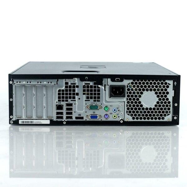 Lauaarvuti HP 8200 Elite SFF i5-2400 16GB 120SSD+500GB DVD WIN10Pro