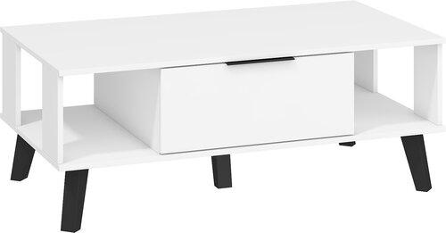 Laud Sven, 46 x 120 x 65 cm, valge цена и информация | Журнальные столики | kaup24.ee