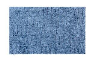 Vannitoavaip, Lotus Greek 50x80 cm, sinine hind ja info | Vannitoa sisustuselemendid ja aksessuaarid | kaup24.ee