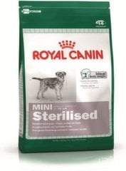 Royal Canin steriliseeritud koertele Mini sterilised, 8 kg