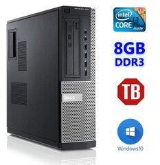 DELL 7010 DT i3-2120 8GB 1TB NODVD WIN10Pro