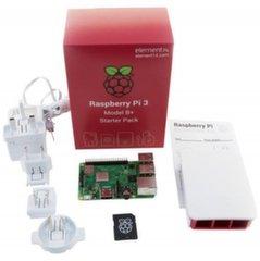 Raspberry Pi 3 B+ Ametlik komplekt - RPI3-MODBP-STARTER hind ja info | Robootika, konstruktorid ja tarvikud | kaup24.ee
