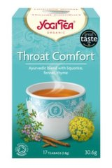 Ökoloogiline tee Yogi Tea® Throat Comfort, 30.6 g