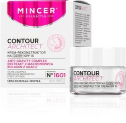 Igapäevane näokreem Mincer Pharma Contour Architect SPF15 1601 50 ml