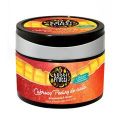 Värskendav kehakoorija suhkruga Farmona Tutti Frutti virsiku ja mango lõhnaga 300 g