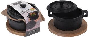 Excellent Houseware pott koos kuumaalusega, 10 cm hind ja info | Excellent Houseware pott koos kuumaalusega, 10 cm | kaup24.ee