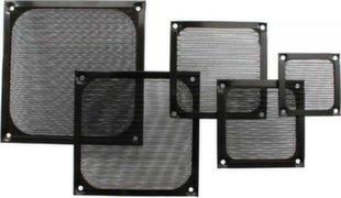 InLine Fan Grill Aluminum Filter 140x140mm black (33372S)