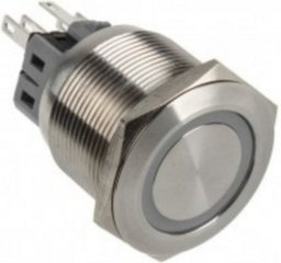 DimasTech LED Button 25mm Orange (PD065) hind ja info | Lisatarvikud korpustele | kaup24.ee