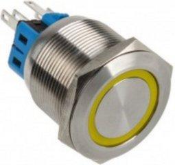 DimasTech LED Button 25mm Yellow (PD060)