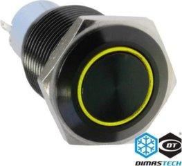 DimasTech Button LED 16mm Yellow (PD030)