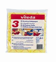 Universaalne puhastuslapp VILEDA, 3 tk hind ja info | Universaalne puhastuslapp VILEDA, 3 tk | kaup24.ee