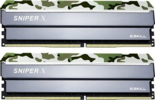 G.Skill Sniper X DDR4, 2x16GB, 3200MHz, CL16 (F4-3200C16D-32GSXFB)