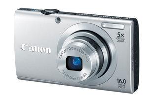 Canon PowerShot A2400 IS, hõbedane + kingituseks kott Canon DCC-850