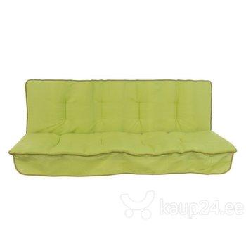 Istumispatjade komplekt aiakiigele Patio Latina, roheline hind ja info | Istumispatjade komplekt aiakiigele Patio Latina, roheline | kaup24.ee