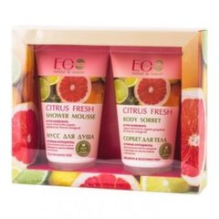 Komplekt Citrus Fresh Eo Laboratorie: dušigeel 150 ml + kehakreem 150 ml