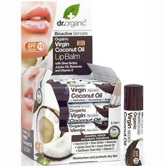 Huulepalsam kookosõliga Dr.Organic Virgin Coconut Oil 5,7 ml