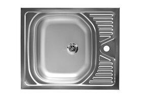Кухонная накладная раковина Artenova E50X60