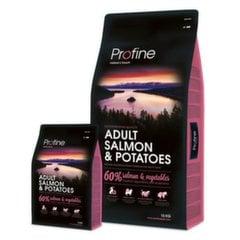 Profine Dog с лососем и картофелем Adult Salmon & Potatoes, 15 кг