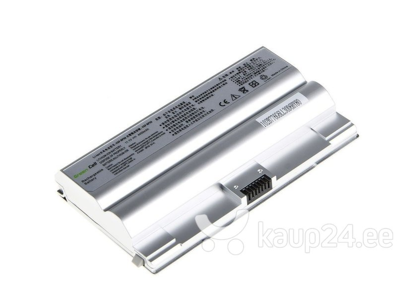 Sülearvuti aku Green Cell Laptop Battery for Sony VAIO PCG-3A1M VGN-FZ21M VGN-FZ21S Internetist