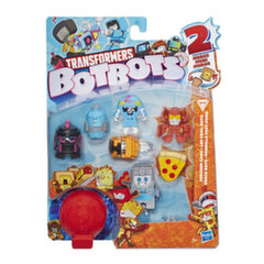 Mini kujukeste komplekt Hasbro Transformers Bot Bot, 8 tk
