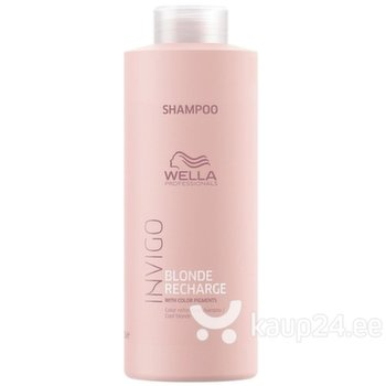 Šampoon blondidele juustele Wella Professionals Invigo Blonde Recharge 1000 ml