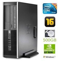 HP 8300 Elite SFF i5-3470 16GB 500GB GT1030 2GB DVDRW WIN7Pro